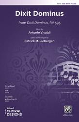 Dixit Dominus : SSA : Patrick M. Liebergen : Antonio Vivald : Sheet Music : 00-48318 : 038081551418
