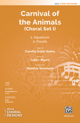 Carnival of the Animals: Choral Set I : 2-Part : Heather Sorenson : Sheet Music : 00-48360 : 038081551838