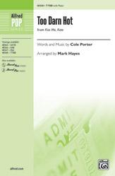 Too Darn Hot : TTBB : Mark Hayes : Cole Porter : Sheet Music : 00-48368 : 038081551913
