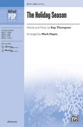 Mark Hayes : The Holiday Season : Showtrax : 038081551982  : 00-48375