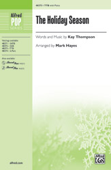 The Holiday Season : TTB : Mark Hayes : Sheet Music : 00-48373 : 038081551968