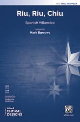 Riu, Riu, Chiu : SSAB : Mark Burrows : Sheet Music : 00-48397 : 038081552200