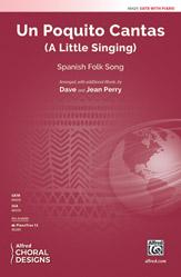 Un Poquito Cantas : SATB : 0 : Sheet Music : 00-48429 : 038081552521