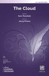 The Cloud : SSA : Jonny Priano : Sara Teasdale : Sheet Music : 00-48439 : 038081552620
