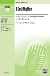 I Got Rhythm : TTBB : Mark Hayes : Sheet Music : 00-48481 : 038081553047