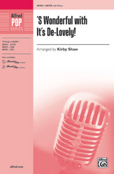 Kirby Shaw : 'S Wonderful with It's De-Lovely! : Showtrax CD : 038081553207  : 00-48497