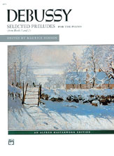 Debussy, Selected Preludes (from Books 1 and 2)