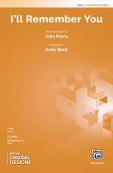 I'll Remember You : 2-Part : Andy Beck : Songbook : 00-48822 : 038081561462