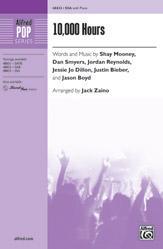 10,000 Hours : SSA : Jack Zaino : Sheet Music : 00-48833 : 038081561578
