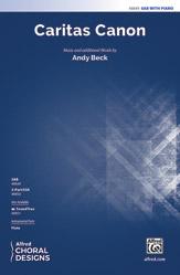 Caritas Canon : SAB : Andy Beck : Sheet Music : 00-48849 : 038081561738