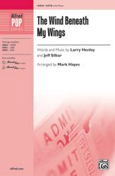 The Wind Beneath My Wings : SATB : Mark Hayes : Bette Midler : Songbook : 00-48880 : 038081562049