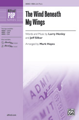 The Wind Beneath My Wings : SSA : Mark Hayes : Bette Midler : Sheet Music : 00-48882 : 038081562063