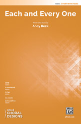 Each and Every One : 2-Part : Andy Beck : Sheet Music : 00-48895 : 038081562193
