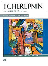 Tcherepnin, Bagatelles, Opus 5