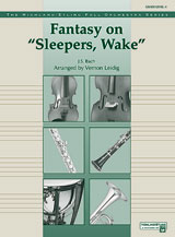 "Fantasy on ""Sleepers, Wake"": 2nd B-flat Clarinet"