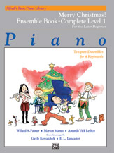 Alfred's Basic Piano Library: Merry Christmas! Ensemble, Complete Book 1 (1A/1B)
