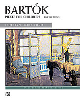 Bartok, Pieces for Children
