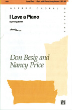 Don Besig and Nancy Price : I Love a Piano : Showtrax CD : 038081046556  : 00-3880