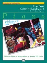 Alfred's Basic Piano Library: Fun Book Complete 2 & 3