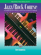 Alfred's Basic Jazz/Rock Course: Lesson Book, Level 1