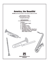 America, the Beautiful: 2nd B-flat Trumpet
