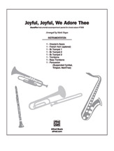 Joyful, Joyful, We Adore Thee: 3rd B-flat Trumpet