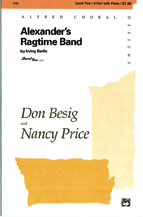 Don Besig and Nancy Price : Alexander's Ragtime Band : Showtrax CD : 038081044965  : 00-3703