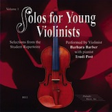 Solos for Young Violinists CD, Volume 1
