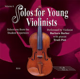 Solos for Young Violinists CD, Volume 6