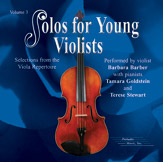 Solos for Young Violists CD, Volume 3