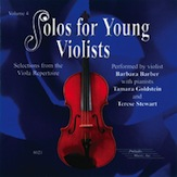 Solos for Young Violists CD, Volume 4
