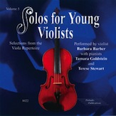 Solos for Young Violists CD, Volume 5