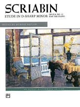 Scriabin: Etude in D-sharp Minor