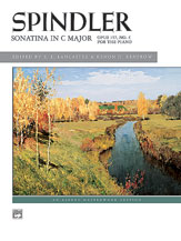 Spindler: Sonatina in C, Opus 157, No. 4