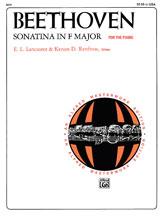 Beethoven: Sonatina in F Major