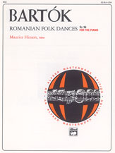 Bartok, Romanian Folk Dances, Sz. 56 for the Piano