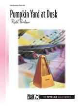 Pumpkin Yard at Dusk