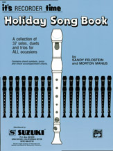 Recorder Holiday Songbook (Suzuki Corp. Edition)