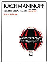 Rachmaninoff: Prelude in G Minor, Opus 23, No. 5