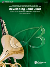 Developing Band Clinic (A Warm-Up and Fundamental Sequence for Concert Band): E-flat Alto Saxophone