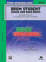 Student Instrumental Course: Drum Student, Level I