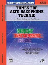 Student Instrumental Course: Tunes for Alto Saxophone Technic, Level II