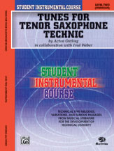 Student Instrumental Course: Tunes for Tenor Saxophone Technic, Level II