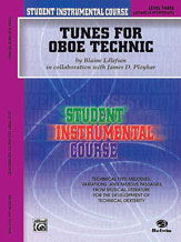 Student Instrumental Course: Tunes for Oboe Technic, Level III