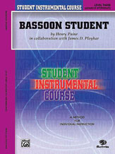 Student Instrumental Course: Bassoon Student, Level III