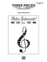 Three Pieces (Ballad, Humoresque, March Eccentric)