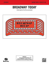 Broadway Today: Song Kit #30