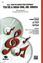 You're a Mean One, Mr. Grinch : TBB : Jeff Funk : Albert Hague : Sheet Music : 00-CHM00002 : 654979007371