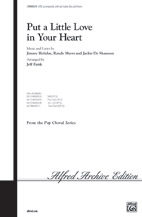 Put a Little Love in Your Heart : SATB : Jeff Funk : Sheet Music : 00-CHM00038 : 654979014737