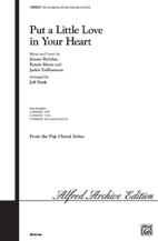 Put a Little Love in Your Heart : SAB : Jeff Funk : Sheet Music : 00-CHM00039 : 654979014744